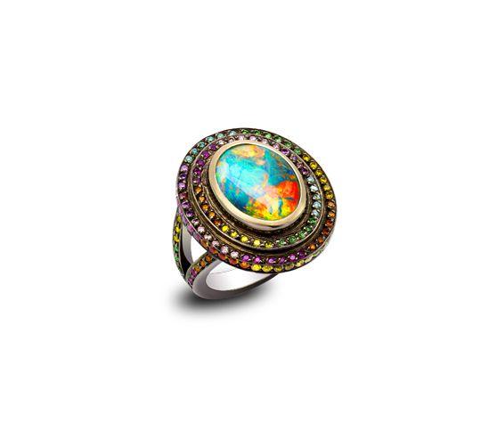 Opal Fruit ring