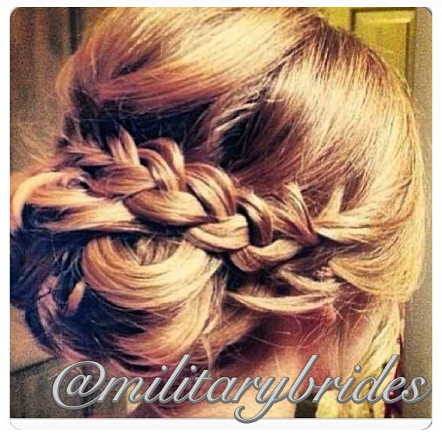 IN LOVE WITH THIS UPDO