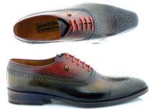 мужская обувь ручной работы Oscar William Queens Gate Необычные цвета Оксфорд миникартинки