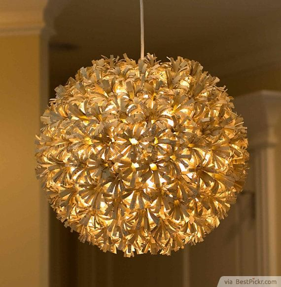 Custom Recycled Paper Pendant Globe Light Http Bestpickr