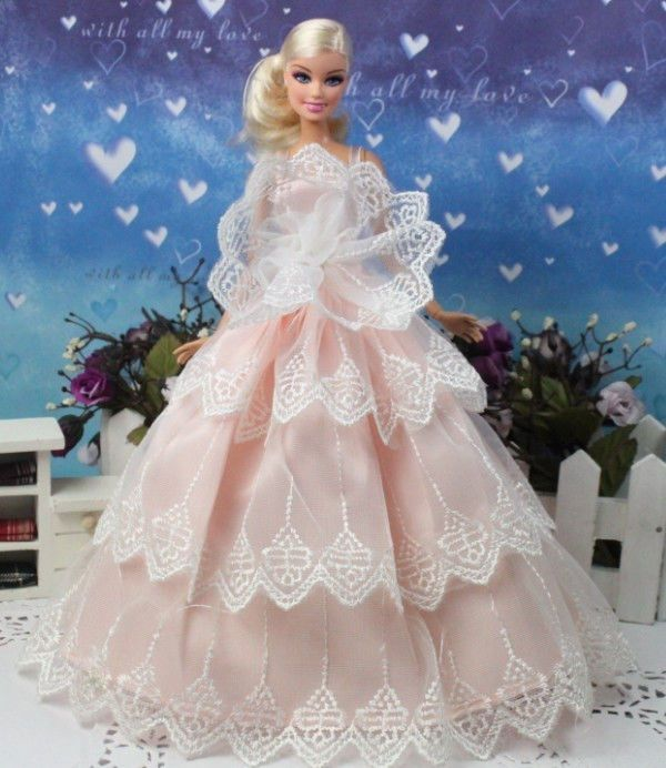 Accessories Beautiful Bride Barbie Doll 14