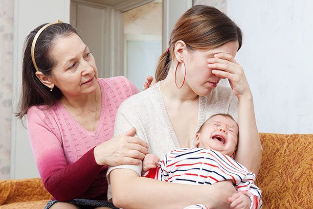 Postpartum depression more than baby blues