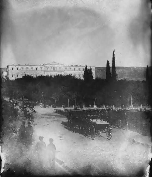 Syntagma, Athens c.1900 (photo by Odysseas Fokas)