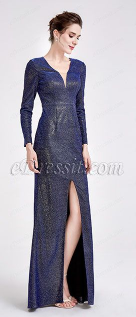 697a4c216ba eDressit s global aesthetic is expressed in the form of this blue ball dress  crafted from a electrical shiny fabric. It s cut to a sultry silhouette with  a ...