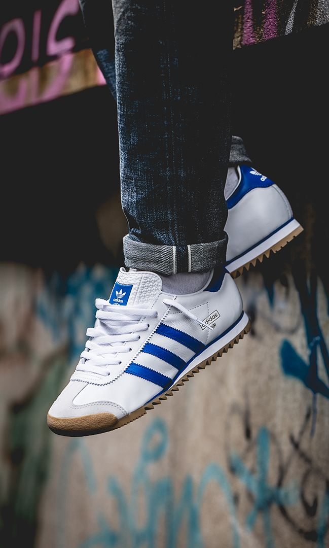 adidas Rom (white blue) EE4941   Sneakers Men in 2019