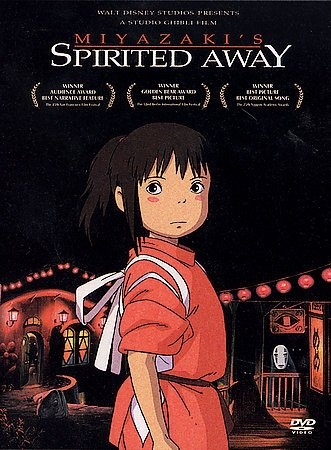 Spirited Away [PN1997 .S657 2003] In the middle of her family's move to the suburbs, a sullen 10-year-old girl wanders into a world ruled by gods, witches, and monsters; where humans are changed into animals; and a bathhouse for these creatures.   Director:Hayao Miyazaki Writer:Hayao Miyazaki Stars:Daveigh Chase, Suzanne Pleshette, Susan Egan