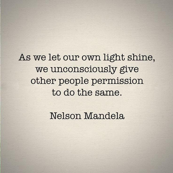 I will forever love Nelson Mandela quotes :)