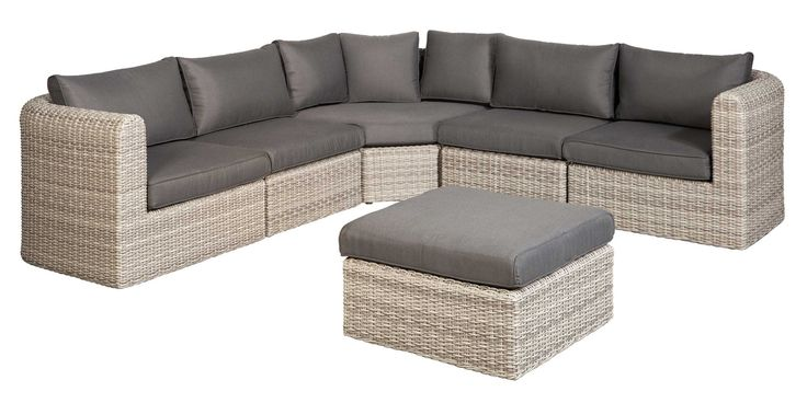 SUNS Sunrise - Lounge set - SUNS Blue Collection - 6 parts - Big Corner