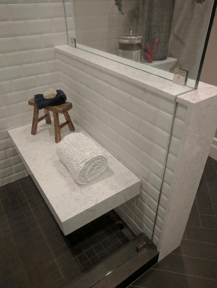 Victoria Quartz Makes A Great Shower Bench It S Even