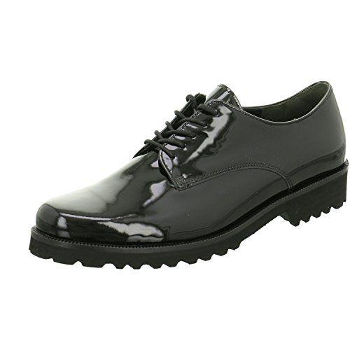 Gabor Schuh 31.412.97 , Schwarz (Black) , EU 41 (UK 7.5) - http://on-line-kaufen.de/gabor/41-eu-gabor-shoes-31-41-damen-derby-5