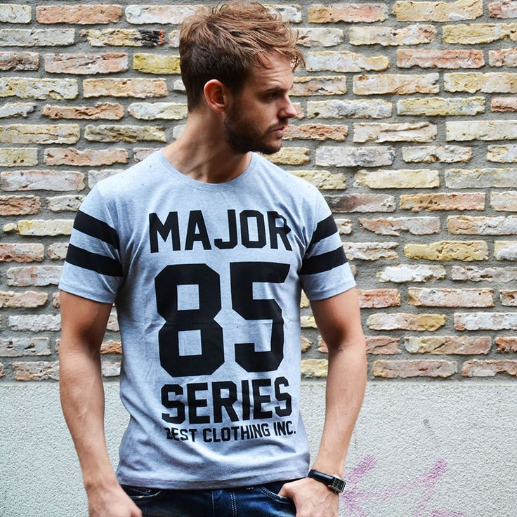 Major T-shirt €17,99 http://mymenfashion.com/major-85-t-shirt.html
