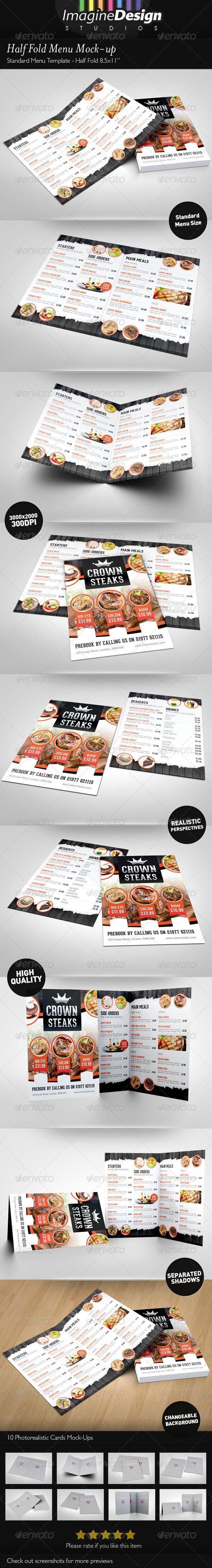 Half Fold Menu Mock-up Download here: https://graphicriver.net/item/half-fold-menu-mockup/3497213?ref=KlitVogli