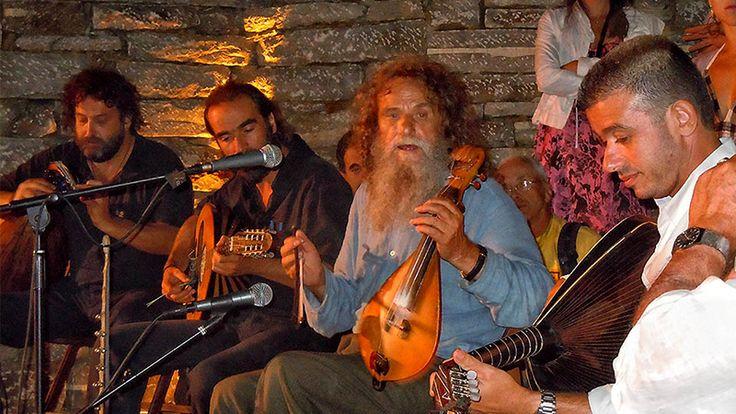 Cretan festivals - Yakintheia, in Anogia