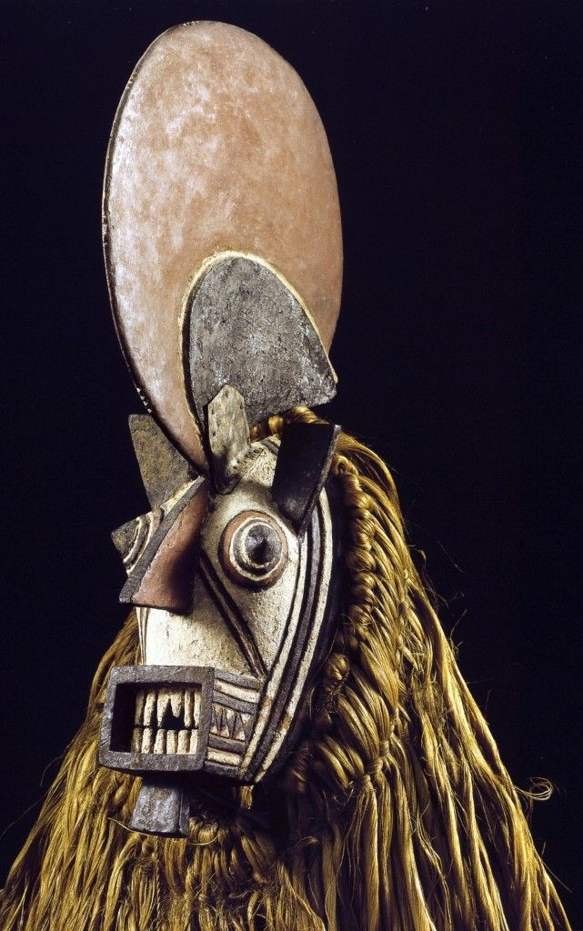 Bwa people, Burkina Faso, Burkina Faso, 0046 Blacksmith-s kobiay Mask46196