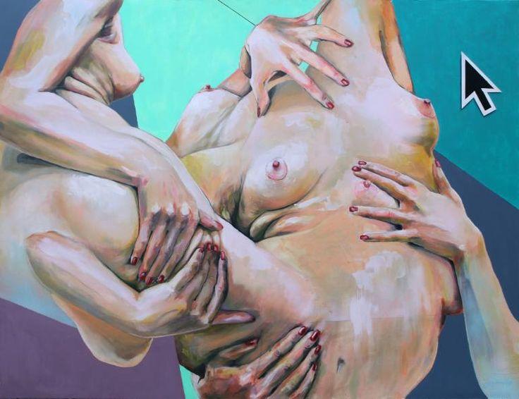 """Saatchi Art Artist Olli Kilpi; Painting, """"UPLOADED #01"""" #art"""