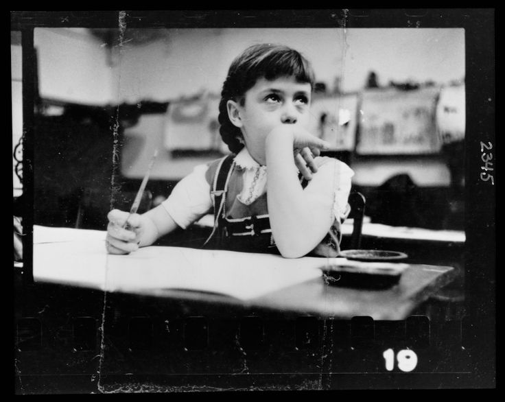 A group of images of children at school. Image: LOOK Magazine Photograph Collection (Library of Congress)   www.eklectica.in #eklectica