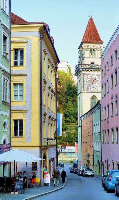 Old town of Passau, Bavaria, Germany | by murphman61