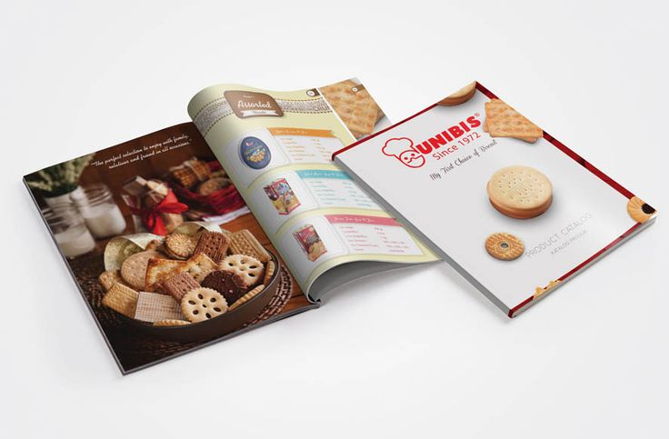 Biscuit Manufacturer Company Profile design, Website design by SIGNIFICAN significan-design.com