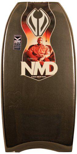 NMD Board Ben Player PP Bodyboard, Black, 42.5-Inch