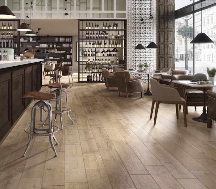 Dream Kitchens Nl: Nordica Light Porcelain Plank Tiles, From Mandarin Stone