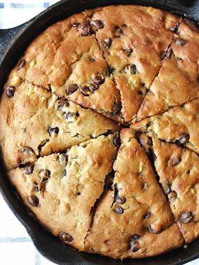 Gâteau au yaourt et pépites de chocolat avec thermomix