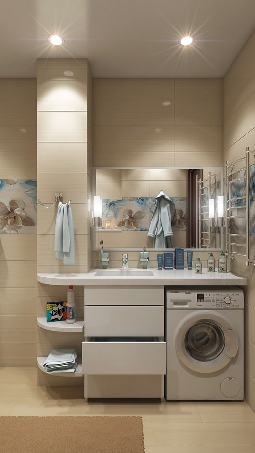 Ванная в квартире на Высоцкого . Ванная
