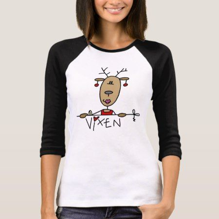 Vixen Reindeer Christmas Tshirts and Gifts - click to get yours right now!