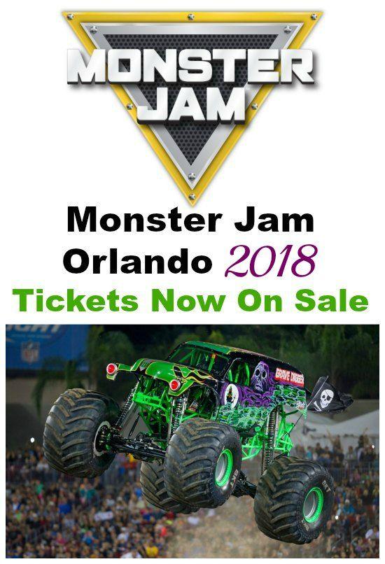 Monster Jam Orlando Tickets 2018