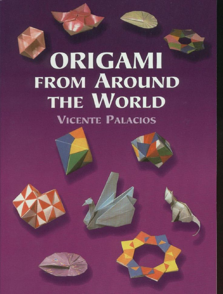 origami around the word  با استفاه از اين کتاب شما مي توانيد انواع و اقسام حيوانت و اشيا مختف را تنها با استفاده از يک تکه کاغذ درست کنيد