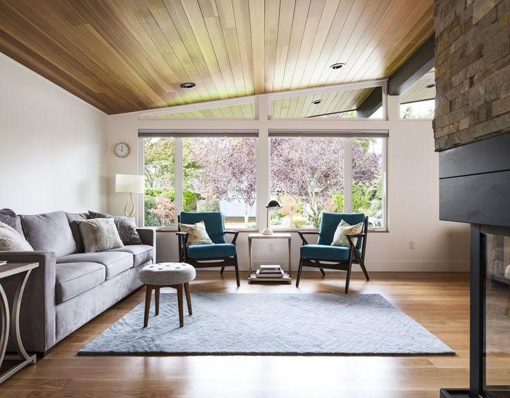 A Sparkling Mid Century House In Seattle, Gets A New Life