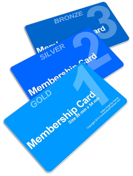 Best Membership Cards Images On   Business Cards