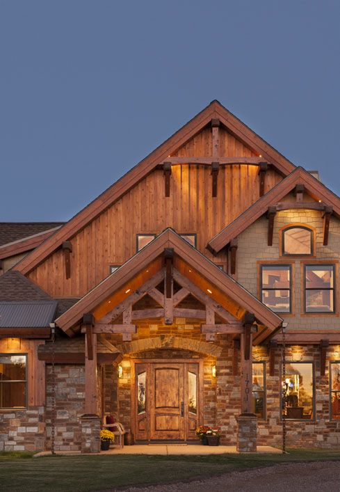 25 best ideas about timber frame homes on pinterest for Timber frame home plans for sale