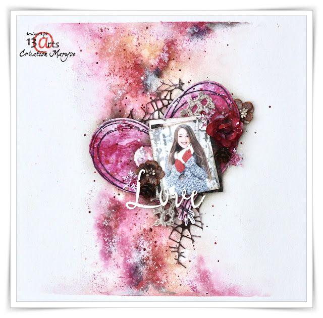13arts: Challenge / Wyzwanie #50 - Love is in the Air / Miłość wisi w powietrzu