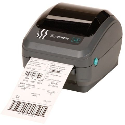 Zebra GK420 printer, 203 DPI, direct thermal print method, EPL and ZPL programming languages, USB, Auto-Sensing Serial and Centronics parallel connectivity, Australia cord, (6ft. USB Cable included)  The Zebra GK420d direct thermal printer offers the best value in a basic desktop printer, featurin