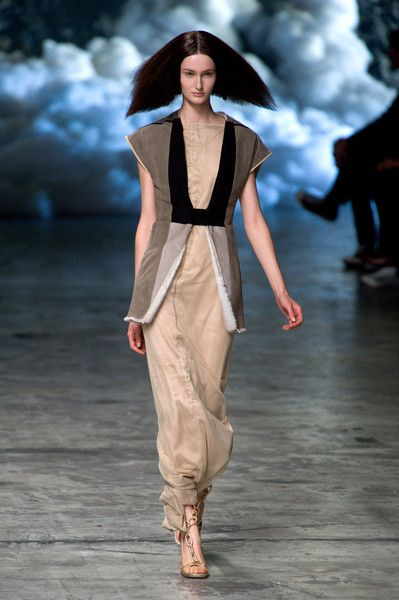 #RickOwens #ss2013 #caughtinadream