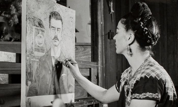 "The Heard Museum's ""Frida Kahlo–Her Photos"" exhibits features 240 images found in the Mexican artist's Casa Azul."