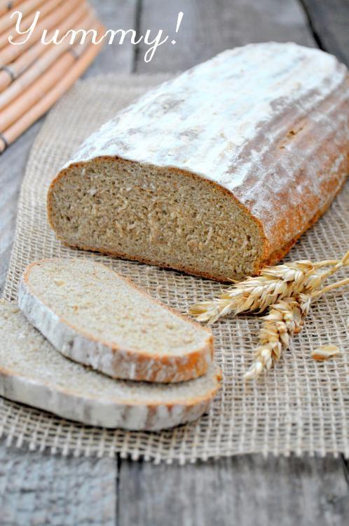 Yummy homemade cooking: Chleb pełnoziarnisty