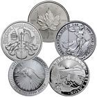 ☼∞ Grab Bag of 5 Different Ungraded 1 Oz #Silver World #Coins SKU30674 http://ebay.to/2aBAXyW