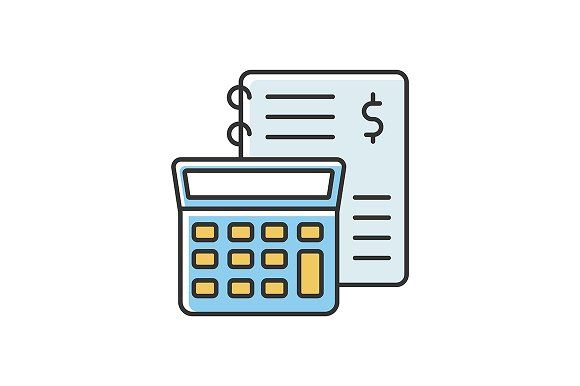 Financial Accounting Color Icon Financial Accounting Accounting Financial
