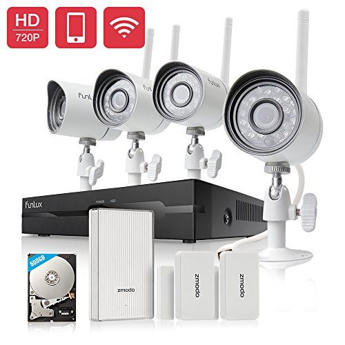 Funlux 4CH NVR 720p HD 1.0 Megapixel 1280 x 720 Wireless Security Camera System Outdoor Indoor 500GB Hard Drive with Wifi Extender Hub and 2 Pack Door/Window Sensors https://wirelesssecuritycamerasusa.info/funlux-4ch-nvr-720p-hd-1-0-megapixel-1280-x-720-wireless-security-camera-system-outdoor-indoor-500gb-hard-drive-with-wifi-extender-hub-and-2-pack-doorwindow-sensors/