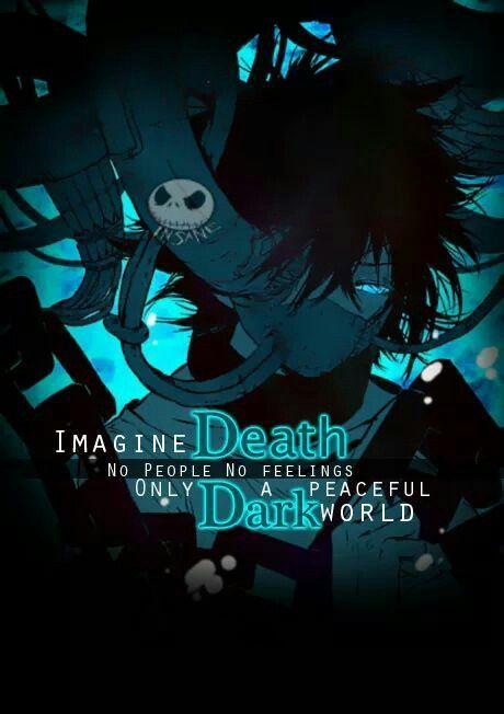 Imagine a morte, sem pessoas, sem sentimentos, apenas uma palavra escura e pacífica.