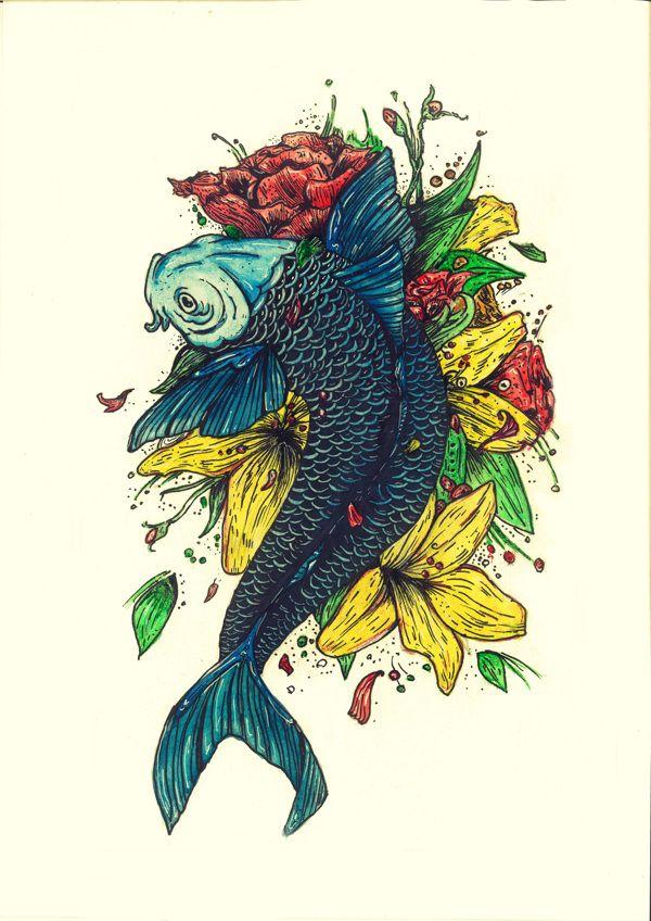 Cake Decorating Bagshot : 1000+ images about Koi tattoo on Pinterest Japanese koi ...