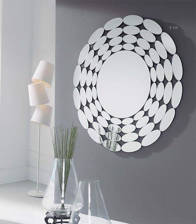 M s de 25 ideas incre bles sobre espejos de pared - Espejos decorativos originales ...