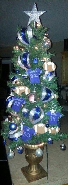Dallas Cowboys Christmas tree!!!!