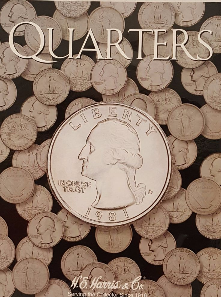 Quarters Coin Collecting Album