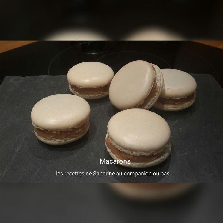 Macarons (recette des coques au companion ou autres robots)