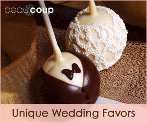 Unique Wedding Favors from Beau-coup.com