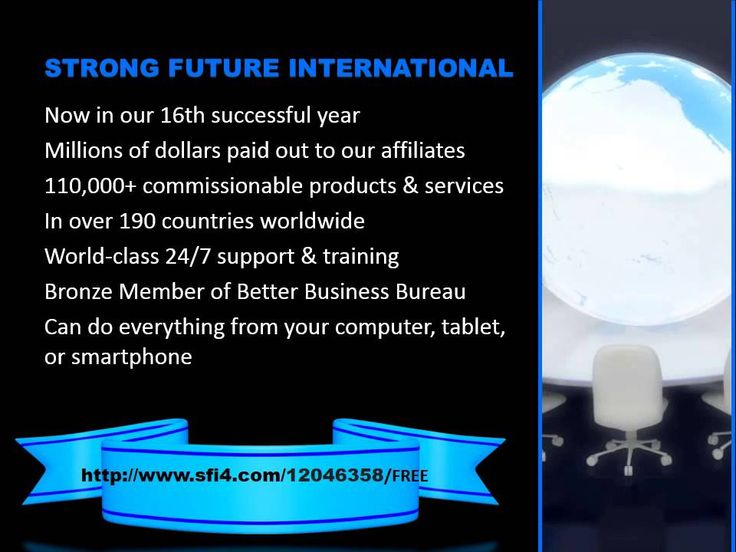 Introducing Strong Future International A Real, Legitimate, Global Home Based Business brought to you by Carson Services, Inc. and SFI's founder Gery Carson.  Gery carson, a bright, innovative entrepreneur is well-known in the Marketing, Media and communications World. Watch this video to learn more!
