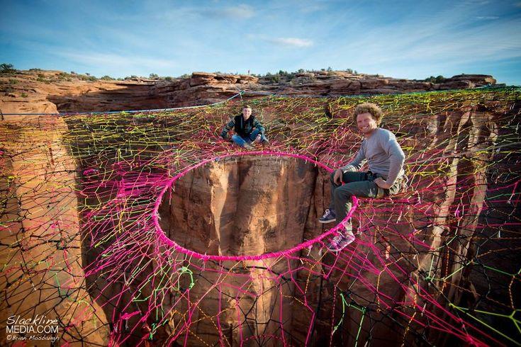 Vi siete mai rilassati su un'amaca sospesa a 122 metri da terra?