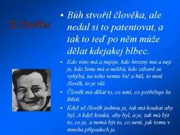 Náhled prezentace pps Jan Werich - nejen citáty